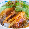 鯵のかば焼き。ハマチの刺身。つみれ汁。(お魚料理教室)