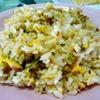 干物炒飯。豆腐入り鶏団子スープ。かぼちゃケーキ。