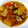 ぐる煮。おからと茹で野菜の和えもの。みそ汁。ご飯。