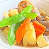 筍のあごだし煮。若竹汁。ご飯。